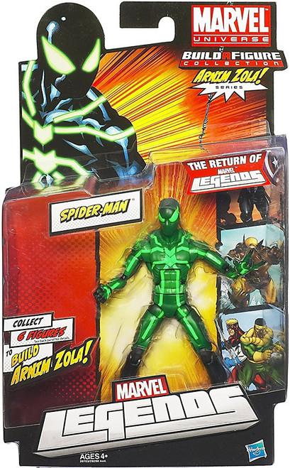 Marvel Legends 2012 Series 2 Arnim Zola Spider-Man Action Figure [Black & Green Suit]