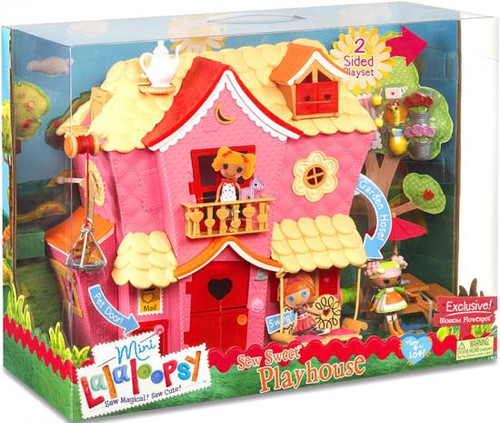Lalaloopsy Sew Sweet Playhouse Exclusive Doll Playset