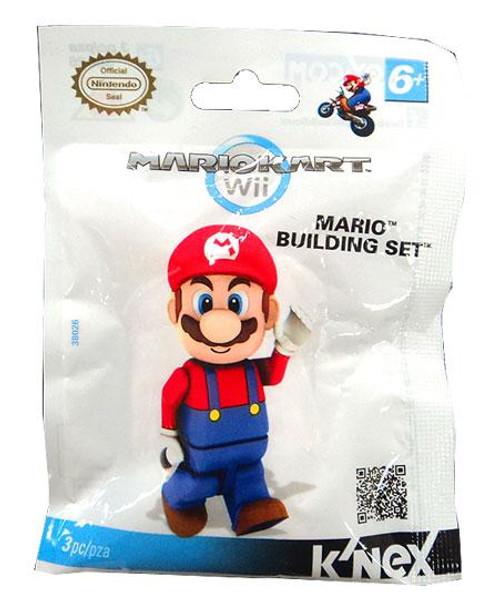 K'NEX Super Mario Mario Kart Wii Mario Set #38026