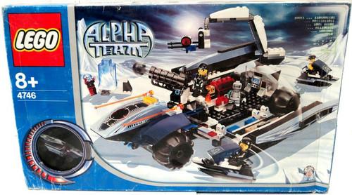 LEGO Alpha Team Mobile Command Center Set #4746 [Damaged Package]