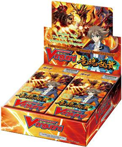 Cardfight Vanguard Onslaught of Dragon Souls Onslaught of Dragons Souls Booster Box [30 Packs]