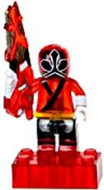 Mega Bloks Power Rangers Samurai Loose Translucent Red Ranger Minifigure [Loose]