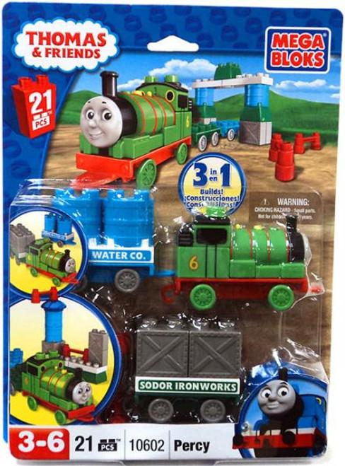 Mega Bloks Thomas & Friends Percy & Wagon Set #10602