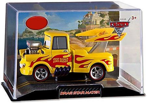 Disney Cars Cars 2 1:43 Collectors Case Drag Star Mater Exclusive Diecast Car
