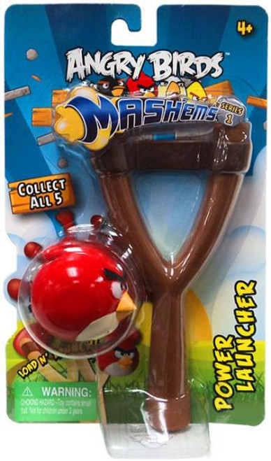 Angry Birds Mash'Ems Series 1 Red Bird Power Launcher