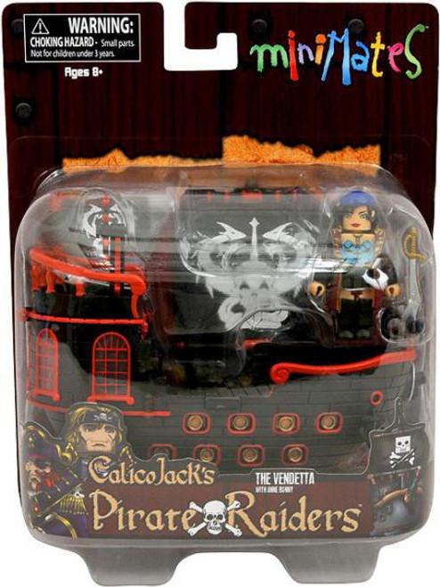 Minimates Calico Jack's Pirate Raiders The Vendetta with Anne Bonny Minifigure Set
