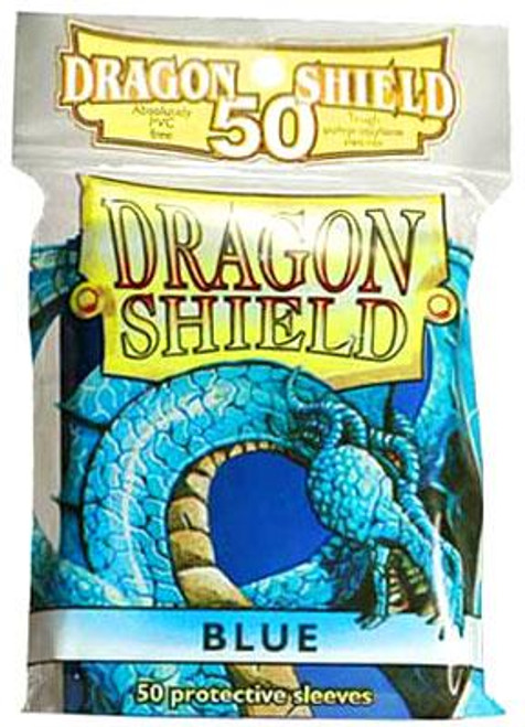 Card Supplies Dragon Shield Blue Standard Card Sleeves [50 ct]