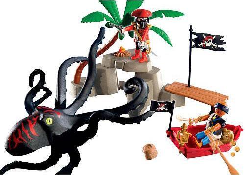 Playmobil Pirates Octopus Attack Set #5868