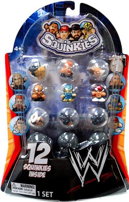 WWE Wrestling Series 1 Squinkies 12-Pack Mini Figures