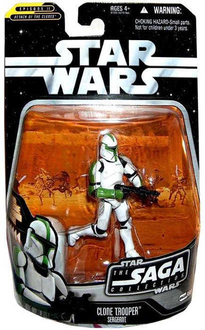 Star Wars Revenge of the Sith Saga Collection 2006 Clone Trooper Action Figure #60 [Sergeant]