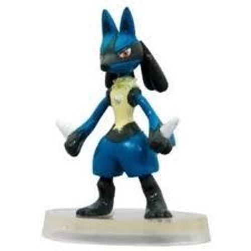 Pokemon Japanese Monster Collection Advanced Generation Lucario PVC Figure #448