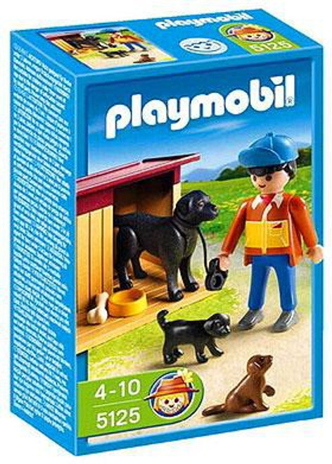 Playmobil Farm Dog House Set #5125