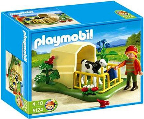 Playmobil Farm Calf Feeder Set #5124