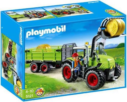 Playmobil Farm Hay Baler with Trailer Set #5121