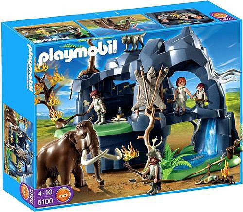 Playmobil Stone Age Cave with Mammoth Set #5100