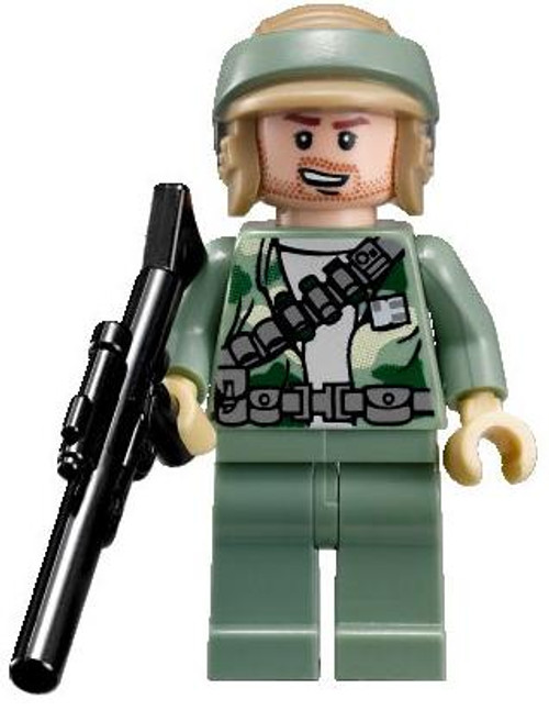 LEGO Star Wars Loose Rebel Commando Minifigure [Stubble Face Loose]
