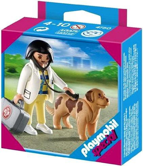 Playmobil Special Vet with Dog Set #4750