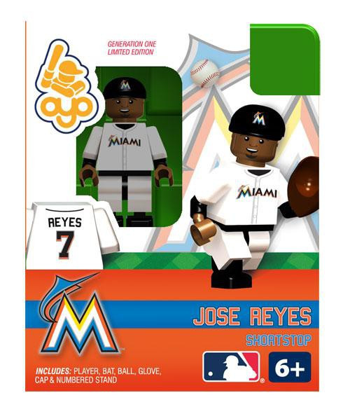 Miami Marlins MLB Generation One Jose Reyes Minifigure