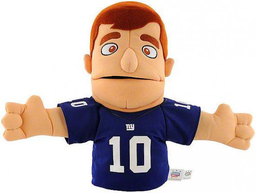 NFL New York Giants Eli Manning 10-Inch Plush Puppet