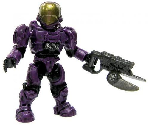 Mega Bloks Halo Loose EVA Spartan 2-Inch Minifigure [Purple Loose]