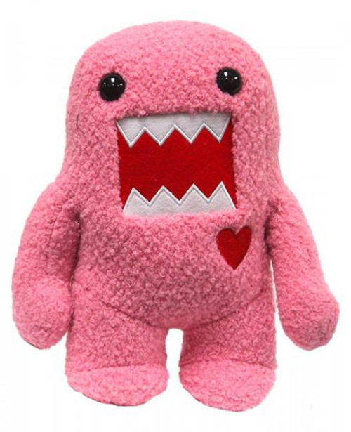 Pink Domo with Heart 9-Inch Plush Figure