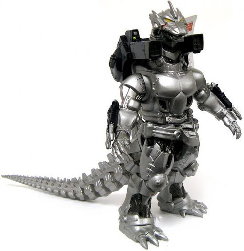 Godzilla 2003 Powered Up Mechagodzilla 9-Inch Vinyl Figure [Godzilla Against Mechagodzilla]