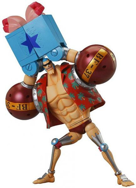 One Piece Japanese Cyborg Franky PVC Statue