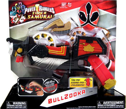 Power Rangers Super Samurai Battle Gear Bullzooka Roleplay Toy