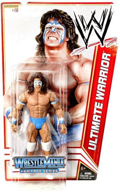 WWE Wrestling Series 16 Ultimate Warrior Action Figure #19