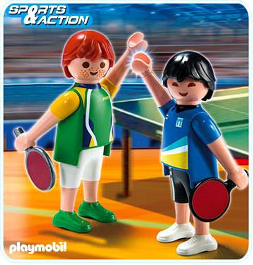 Playmobil High-Performance Athletes Table Tennis Players Set #5197
