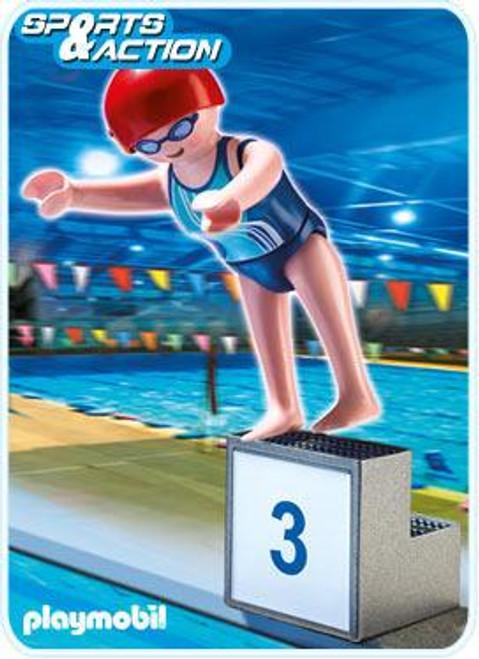 Playmobil High-Performance Athletes Swimmer Set #5198