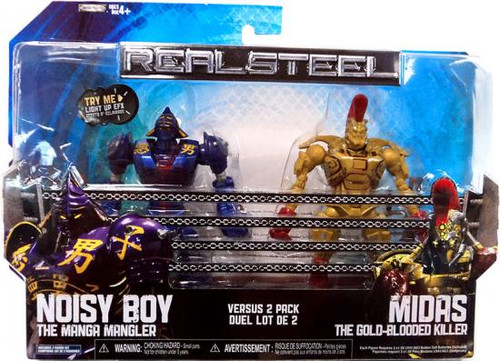 Real Steel Noisy Boy Vs. Midas Action Figure 2-Pack
