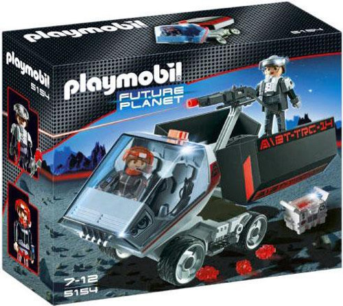 Playmobil Future Planet Dark Rangers' Truck with IR Knockout Cannon Set #5154