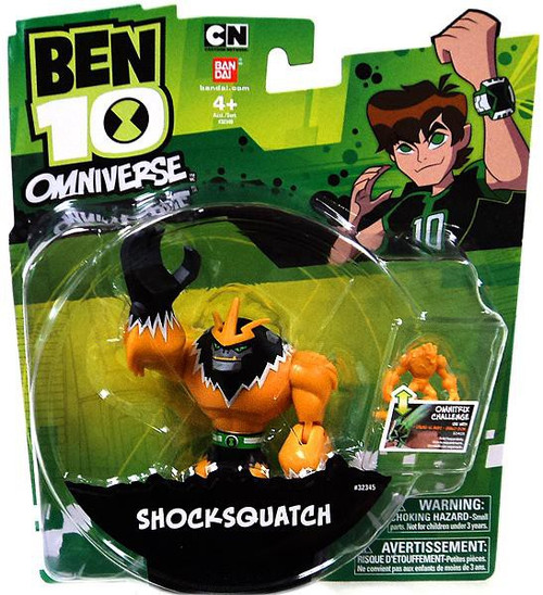Ben 10 Omniverse Shocksquatch Action Figure