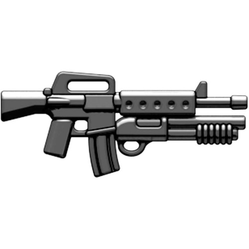 BrickArms Weapons M16-DBR Masterkey 2.5-Inch [Black]