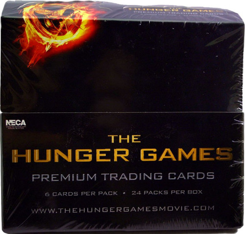 NECA Trading Cards The Hunger Games Trading Card Box