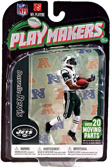 McFarlane Toys NFL New York Jets Playmakers Series 3 Darrelle Revis Action Figure