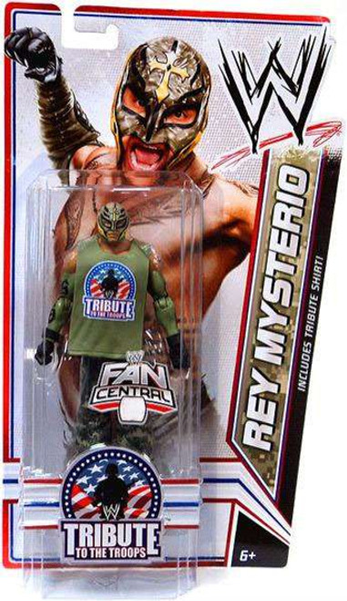 WWE Wrestling Tribute To The Troops Rey Mysterio Exclusive Action Figure
