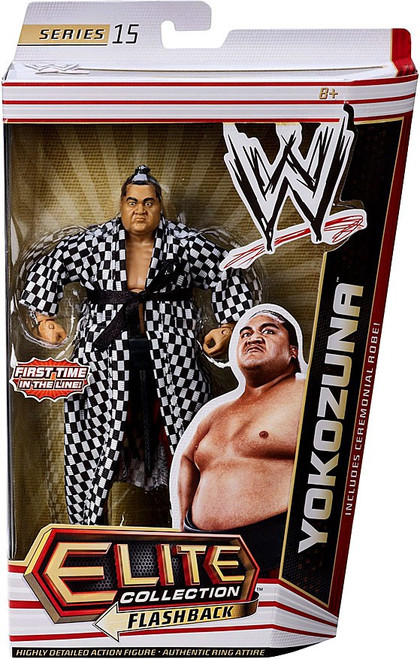 WWE Wrestling Elite Series 15 Yokozuna Action Figure [Ceremonial Robe]