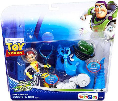 Toy Story To Infinity and Beyond Space Mission Jessie & Rex Exclusive Action Figure 2-Pack