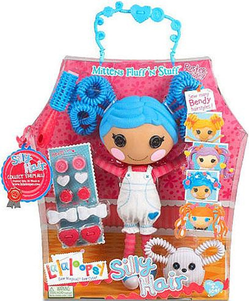 Lalaloopsy Silly Hair Mittens Fluff 'N' Stuff Doll Figure