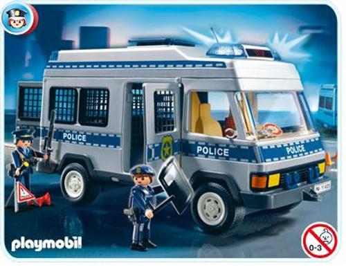 Playmobil Police Van Set #4023