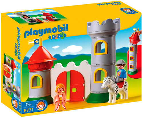Playmobil My First 1.2.3 Knight`s Castle Set #6771