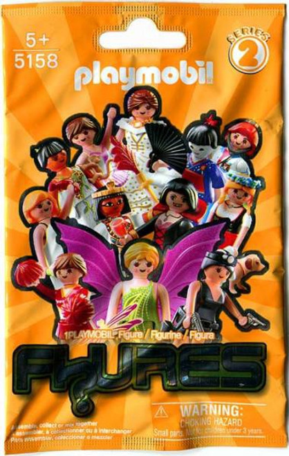 Playmobil Fi?ures Figures Series 2 Orange Mystery Pack