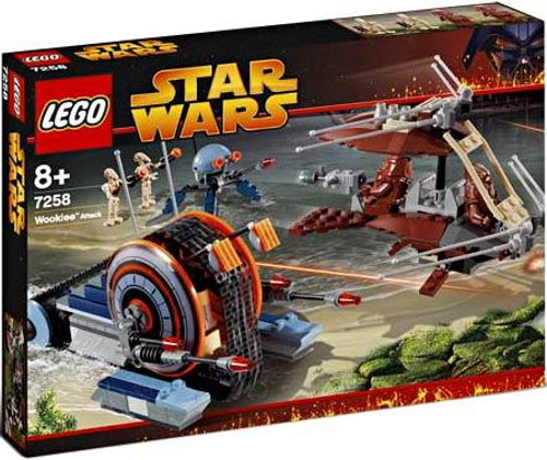 LEGO Star Wars Revenge of the Sith Wookie Attack Set #7258