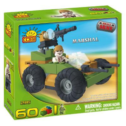 COBI Blocks Small Army Marshal Set #2116