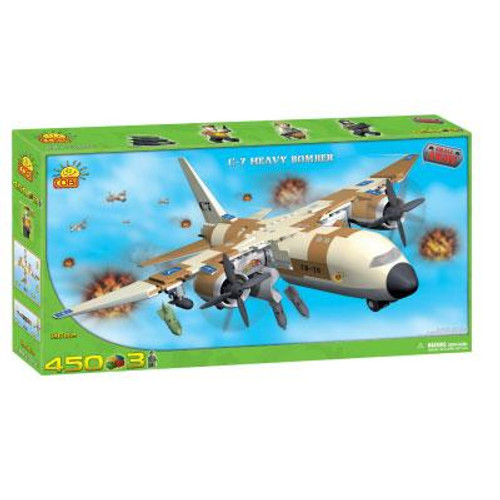 COBI Blocks Small Army C-7 Heavy Bomber Set #2602