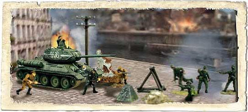 Forces of Valor Battle Extreme Series Russian T34/85 & Soliders 1/7