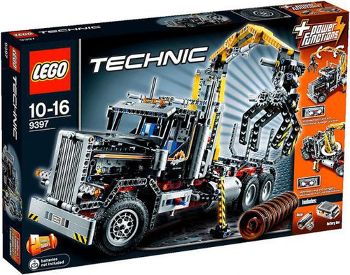 LEGO Technic Power Functions Logging Truck Set #9397
