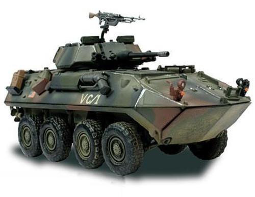 Forces of Valor Bravo Team Vehicles U.S. Light Armored Vehicle LAV-25 1/7